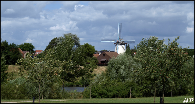 brickenmolen (moulin en briques) Wervick01