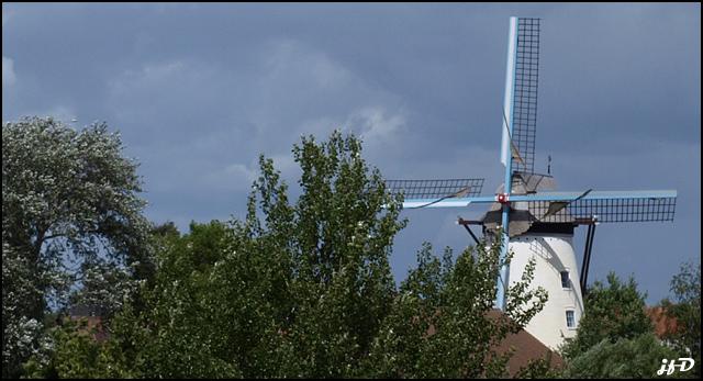 brickenmolen (moulin en briques) Wervick04